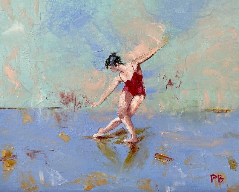 Oljemålning Dancing Queen, Per Bentley