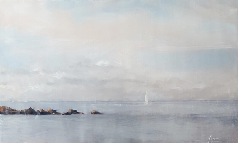 Oljemålning Öland, Anders Olsson