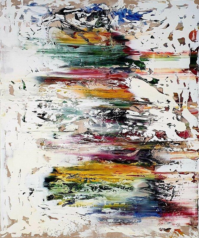 Akrylmålning Emotional Landscapes (I), Tobias Staaf