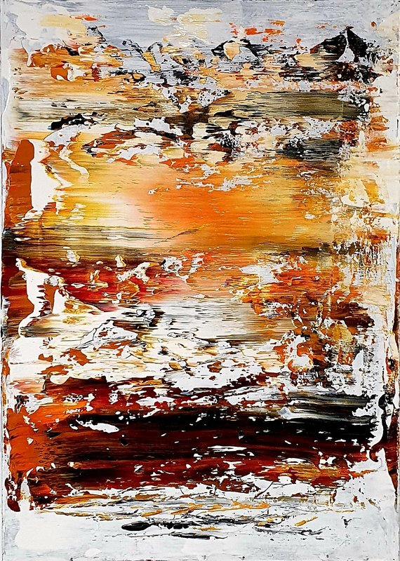 Akrylmålning Paradise, Tobias Staaf