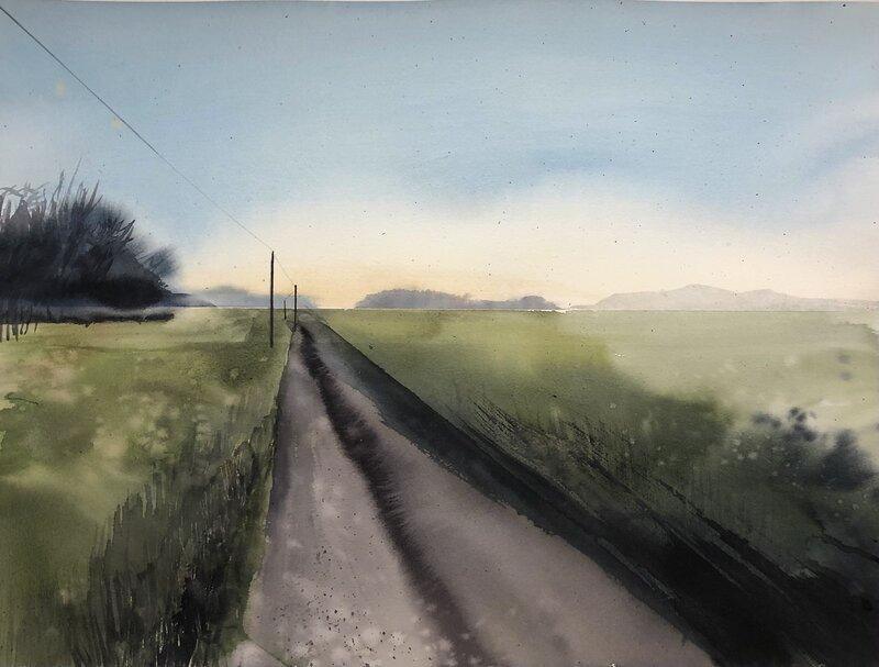Akvarell Till landet, Jimmy Ekman
