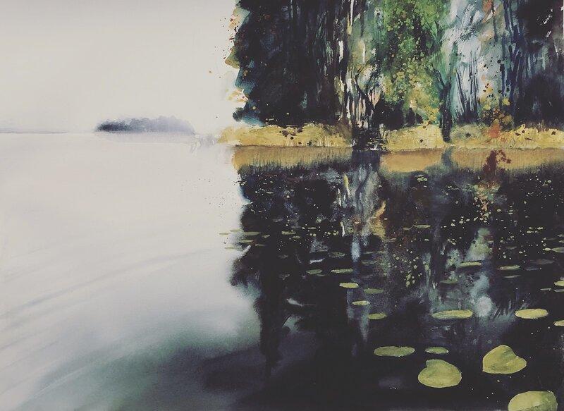 Akvarell Höst, Jimmy Ekman