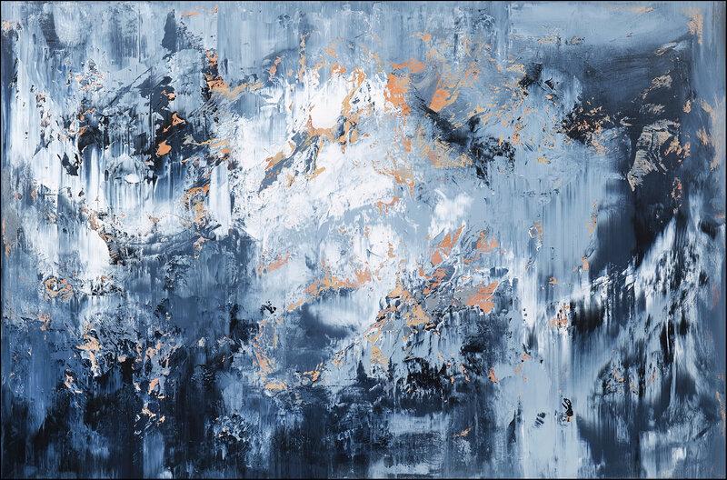 Akrylmålning Abstract no.2143, Tomas Hammar