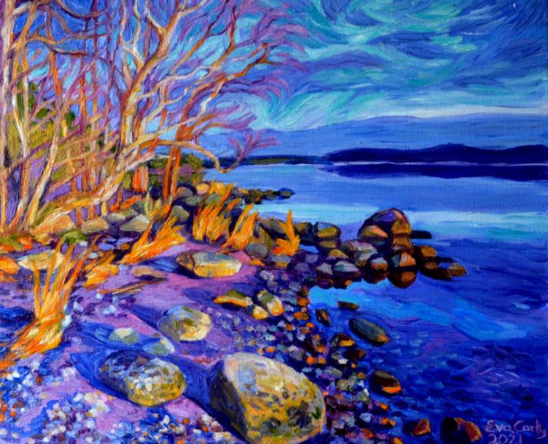 Oljemålning, Eva Carty