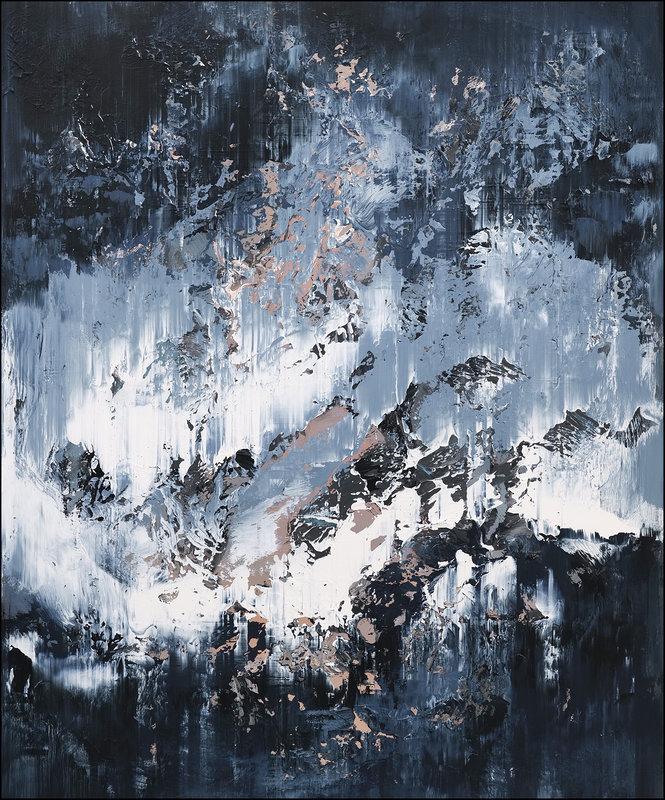 Akrylmålning Abstract no.2159, Tomas Hammar