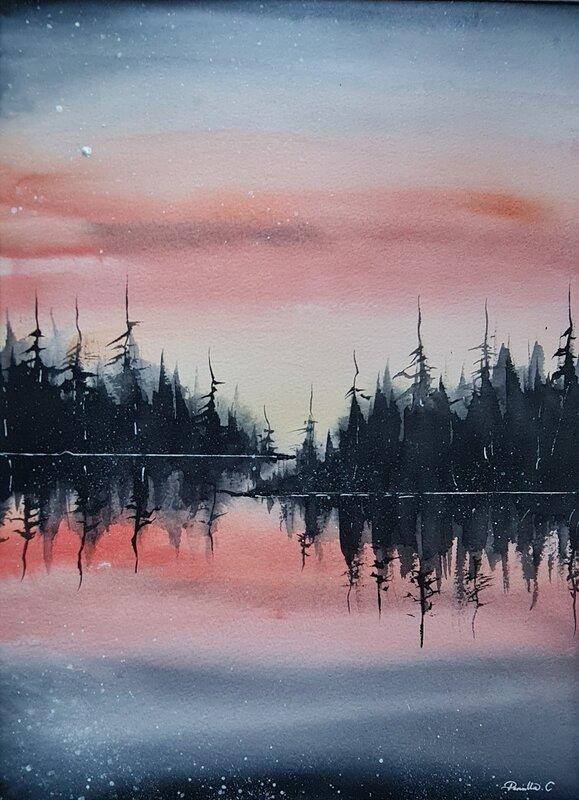 Akvarell Patience, Pernilla Carlsson