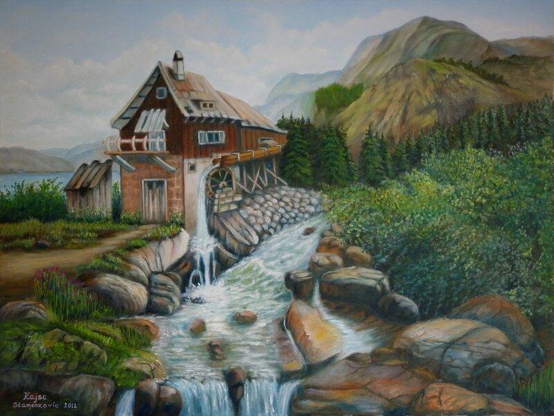 Vattenkvarn..