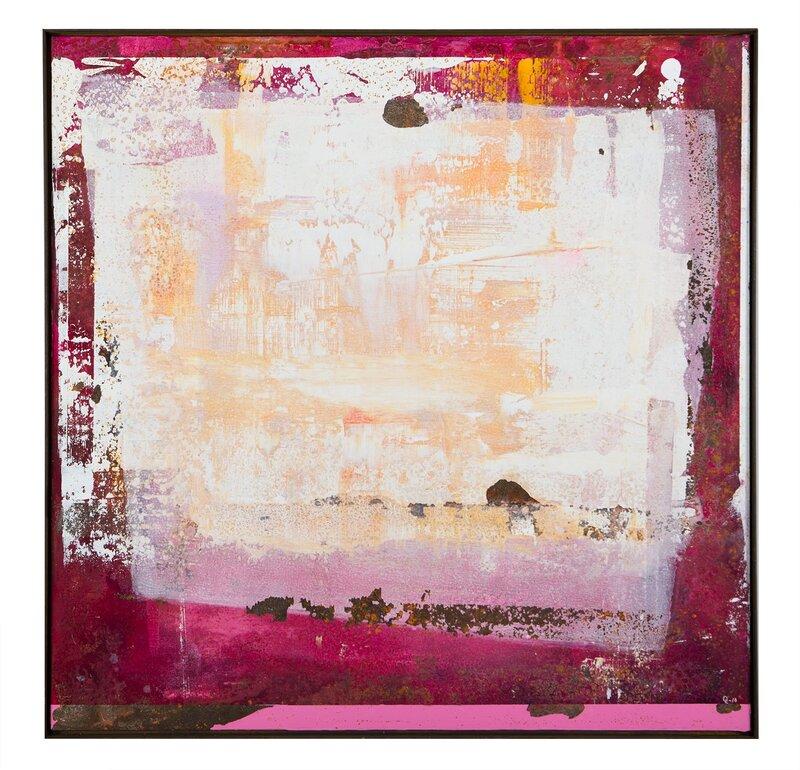 Akrylmålning Old Pink, Daniel Lundvall