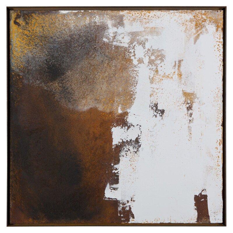 Akrylmålning Raw Canvas, Daniel Lundvall