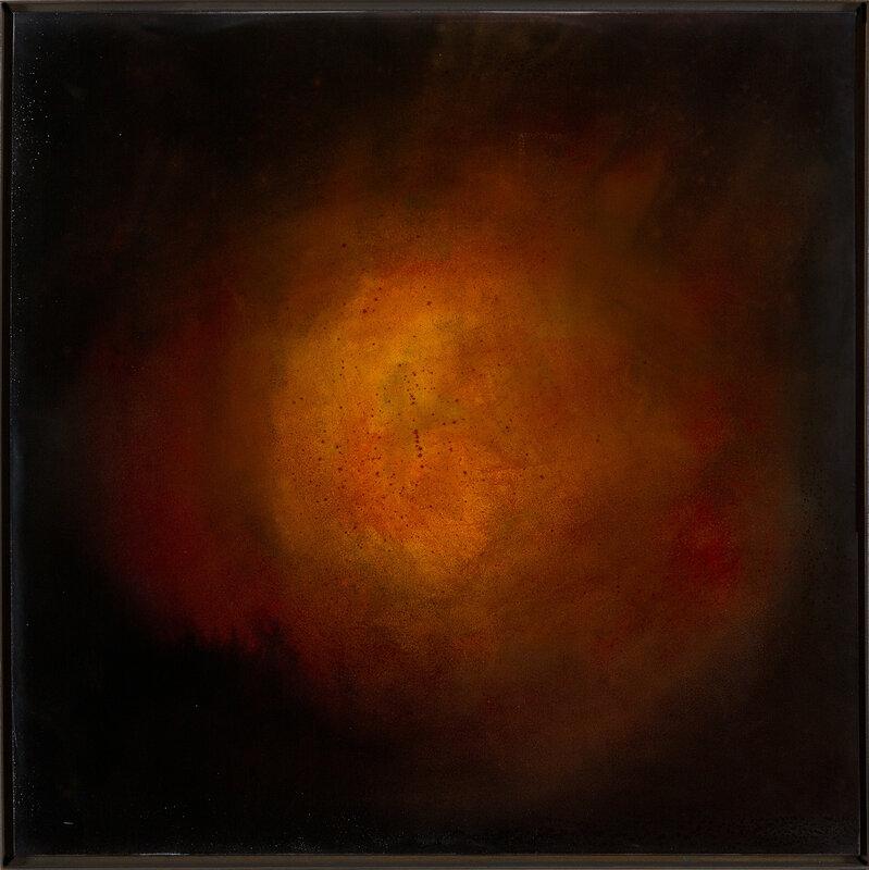 Akrylmålning Dope, Daniel Lundvall