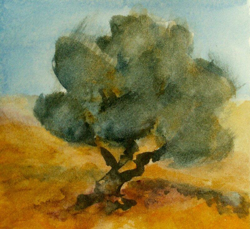Olivträd IV