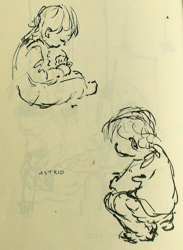 Astrid och ett hänglås I