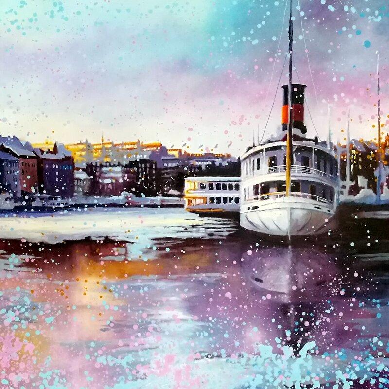One frame of Stockholm
