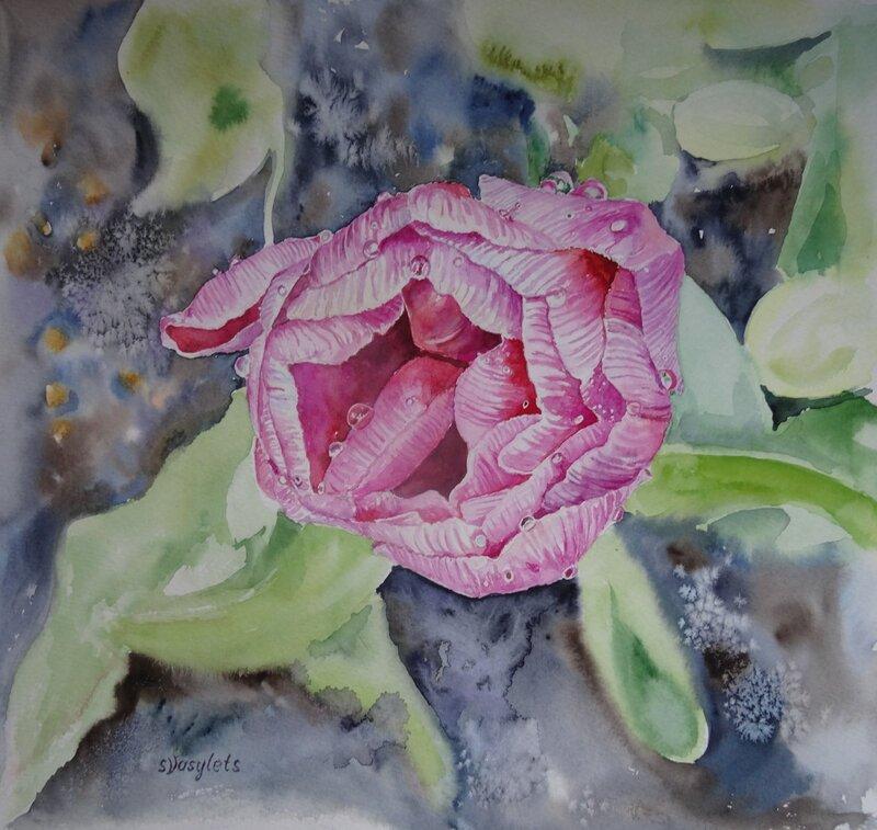 En tulpan från Prins Eugens Waldermarsudde