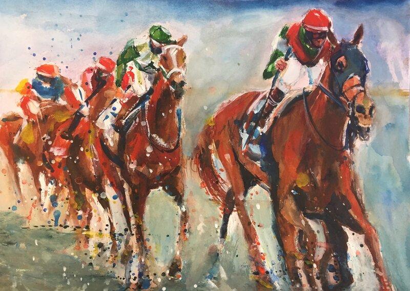 """""""Horse power race l"""""""