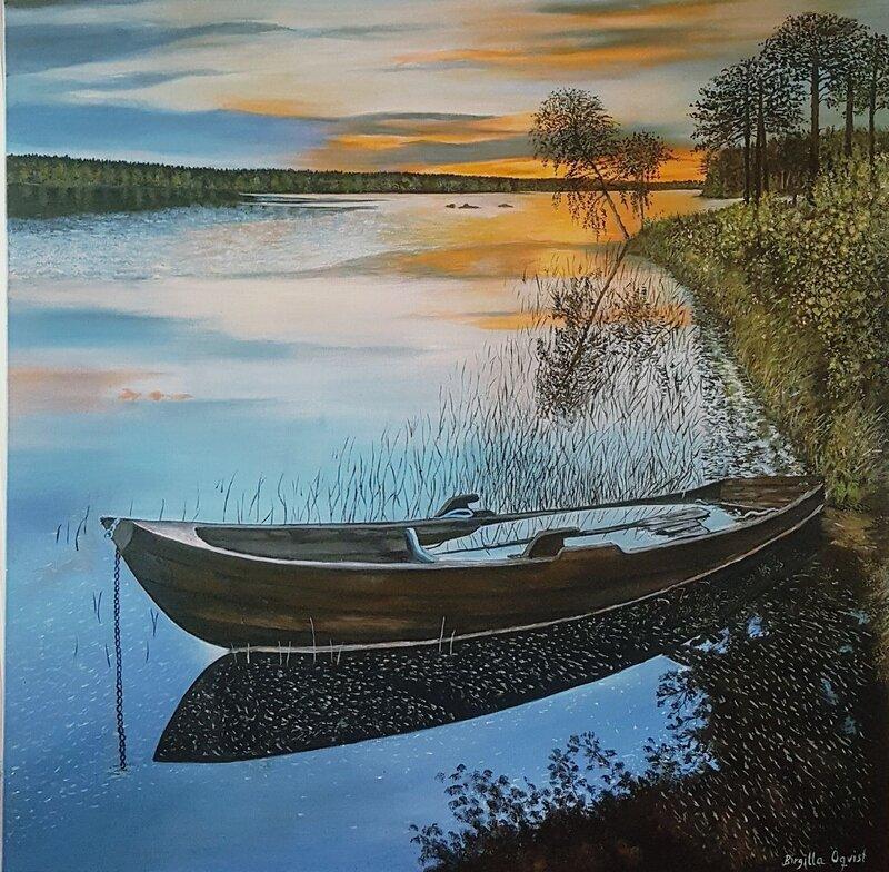 Sommarnatti Bäcksjön