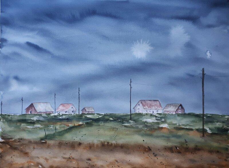 Fem små hus