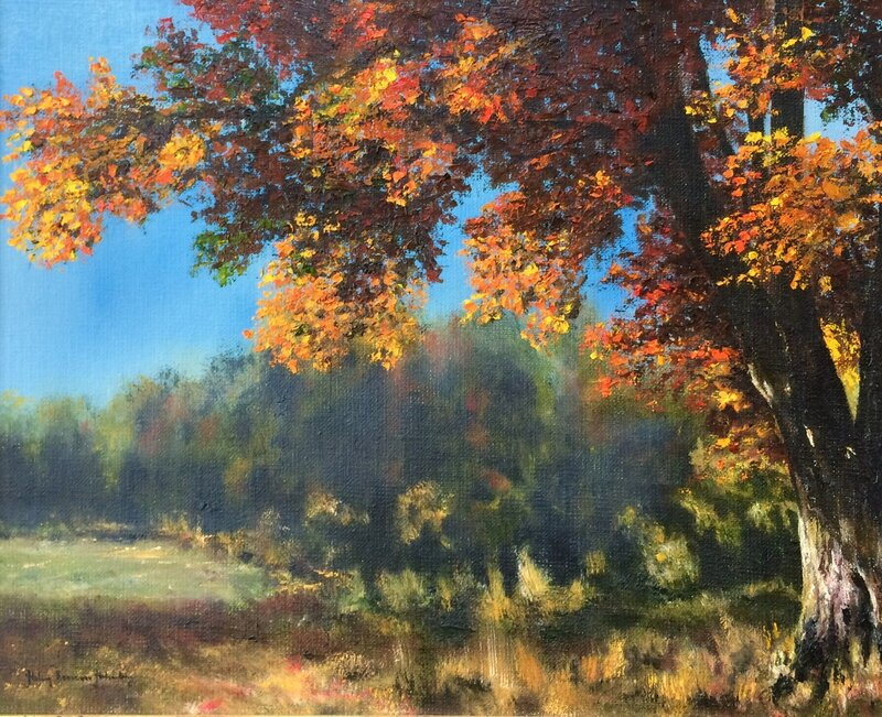 Iklädd höstens färger
