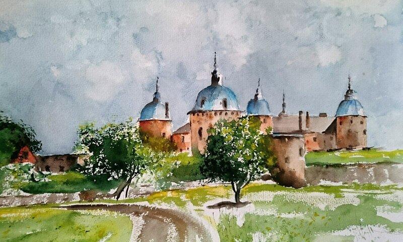 Kalmar Castle - Summer study