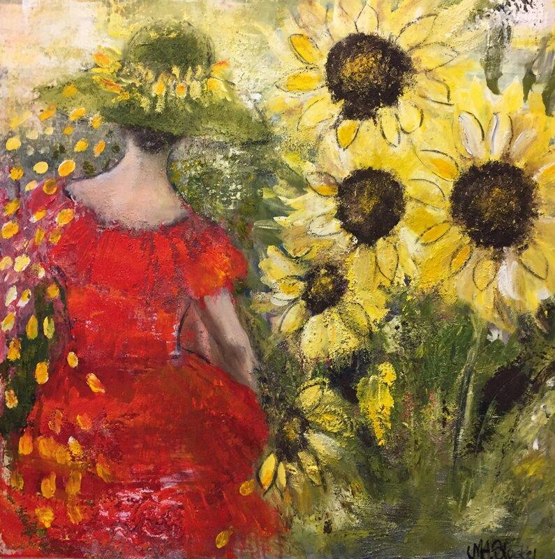 Happy Sunflowers