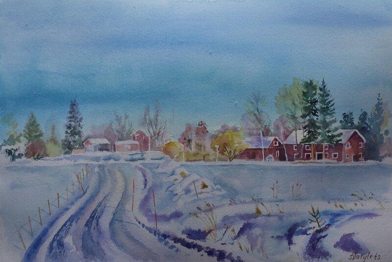 En vinterdag