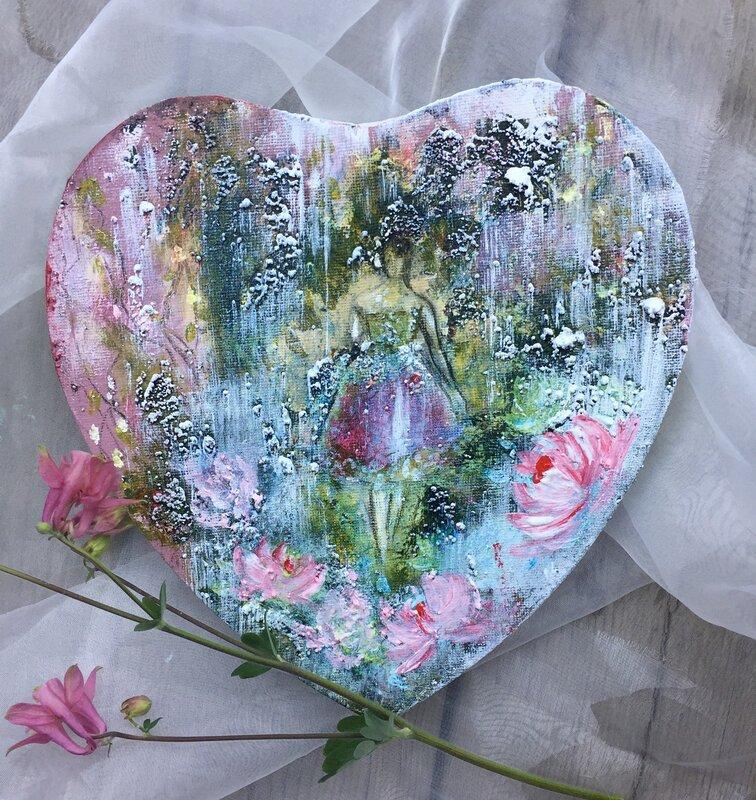 Ballerina - heart