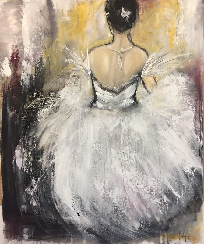 Ballerina - Dancing like the wind