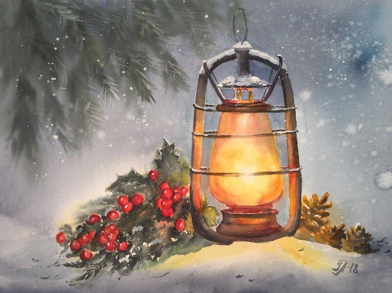 Jul lykta