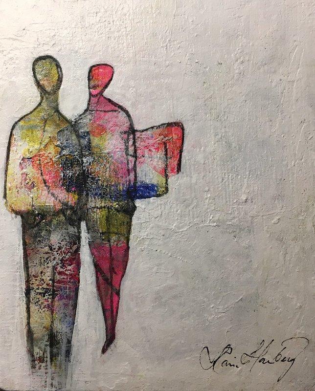 De färgstarka paret