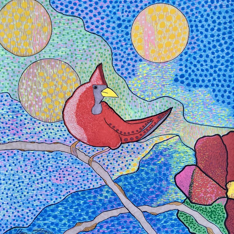 Red bird II